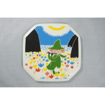 Moomin Collector's plate Who will comfort Toffle 2/6
