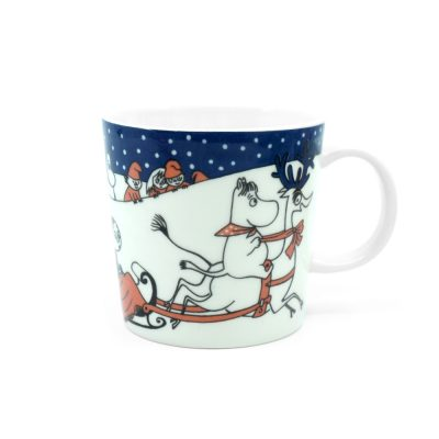 Moomin Mug Christmas Greeting