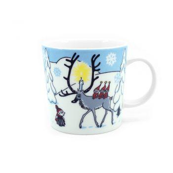 Moomin Mug Winter Forest
