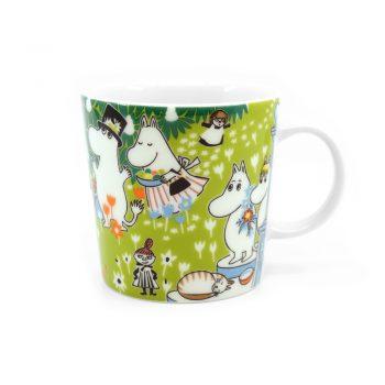 Moomin Mug Tove's Jubilee with glasses
