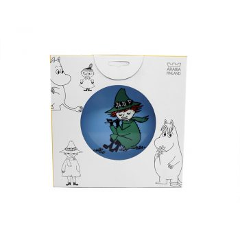 Moomin Plate Snufkin, 2-sided (2004-2006) *LABEL*