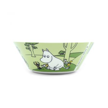Moomin Bowl Moomintroll grassgreen (2019-)