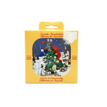 Moomin Wall Plate Christmas Card
