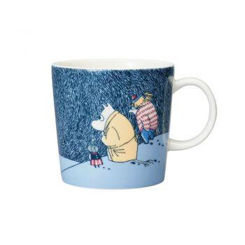 Moomin mug Snow moonlight